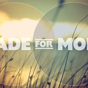 Made for More (Part 1 – EpiConnect)