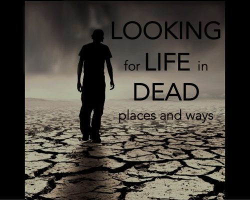 Looking for Life in Dead Places and Ways